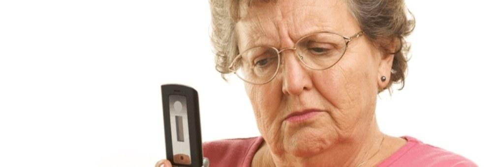 Обман пожилых людей по телефону