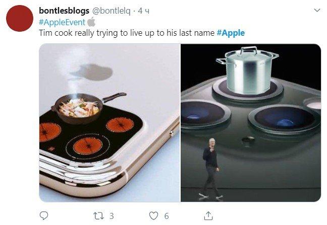 сковородка, юмор, айфон 11