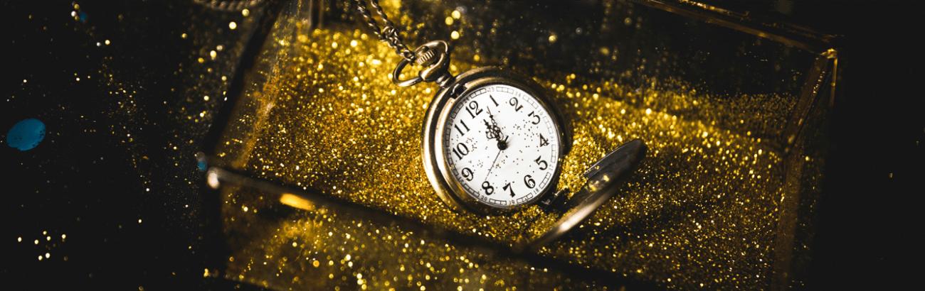 часы, золото