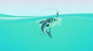 рыба, крючок