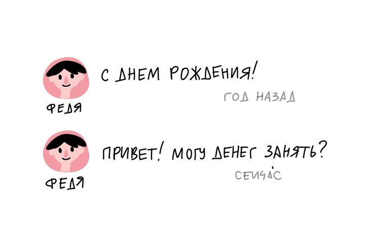 федя, сообщения