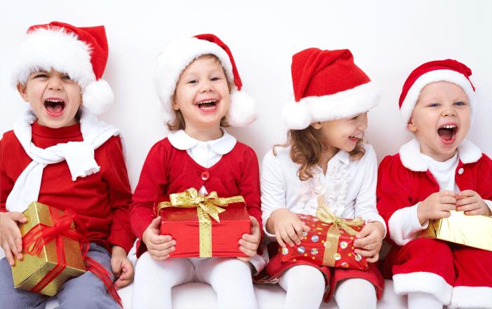 дети, подарки, счастье