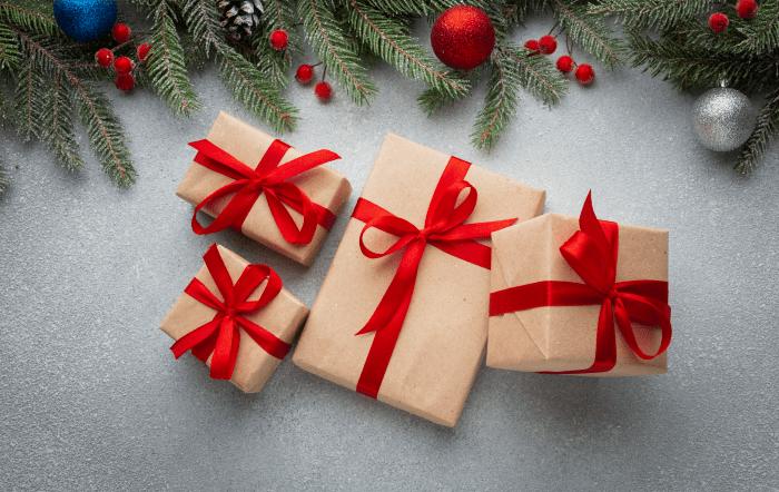 подарки, новый год