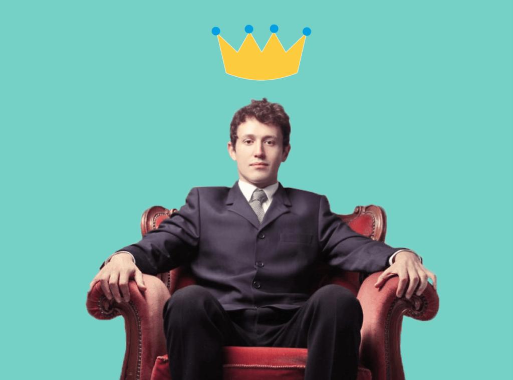 Белый господин, корона