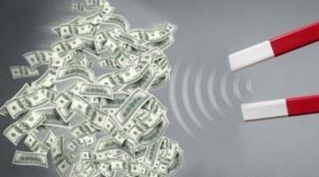 Пять мифов о деньгах, деньги, магнит