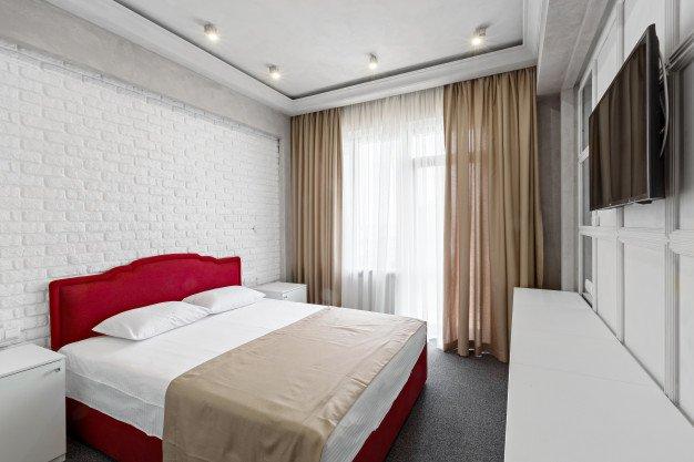 Жилье, кровать, гостиница, номер