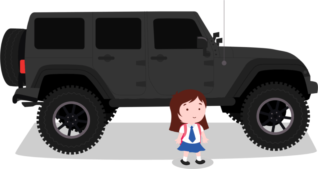 Каждая маленькая девочка мечтает о большой машине