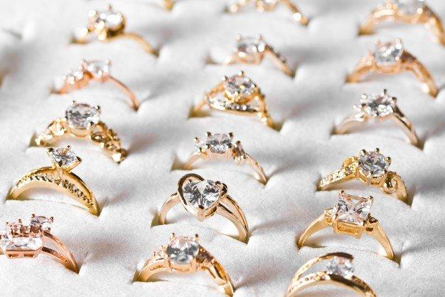 кольца, украшения, золото