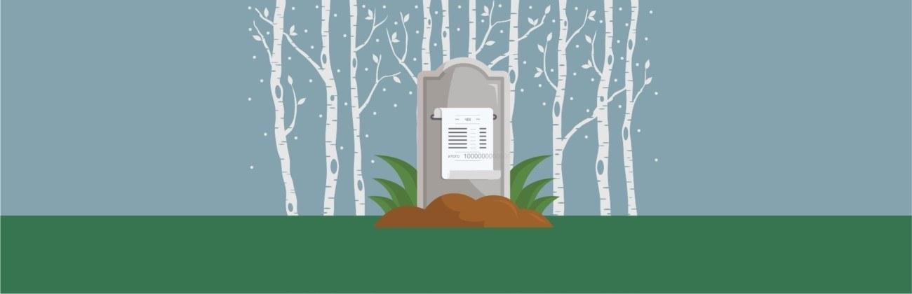 Сколько стоит умереть в России