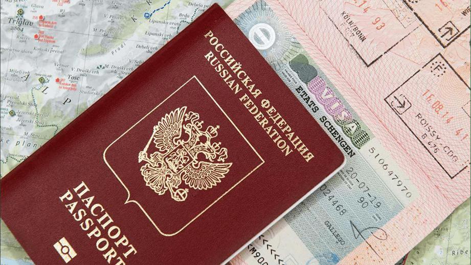 паспорт, виза