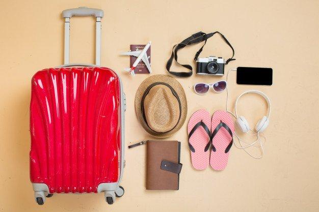 чемодан, набор туриста