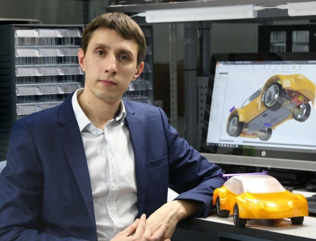 Антон Рябицев, создатель проекта Kvantocars