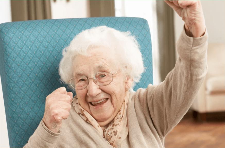 пенсионер, женщина, бабушка
