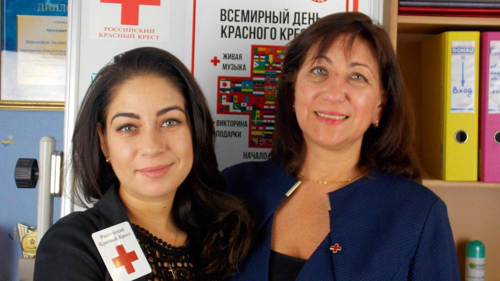 Елена Беспечнова и Анна Кинарова
