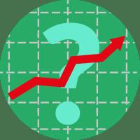 риск,  рост, график