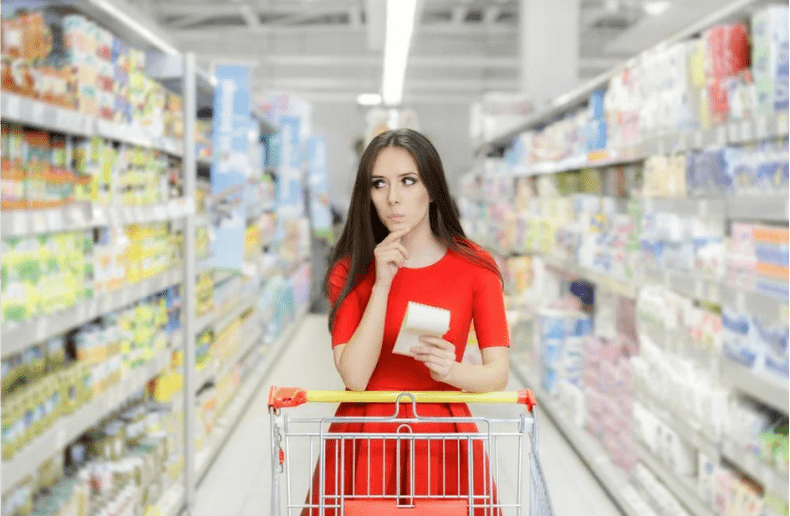 супермаркет, покупки