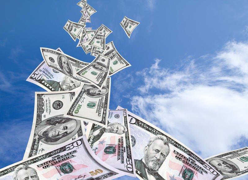 Деньги не падают с неба