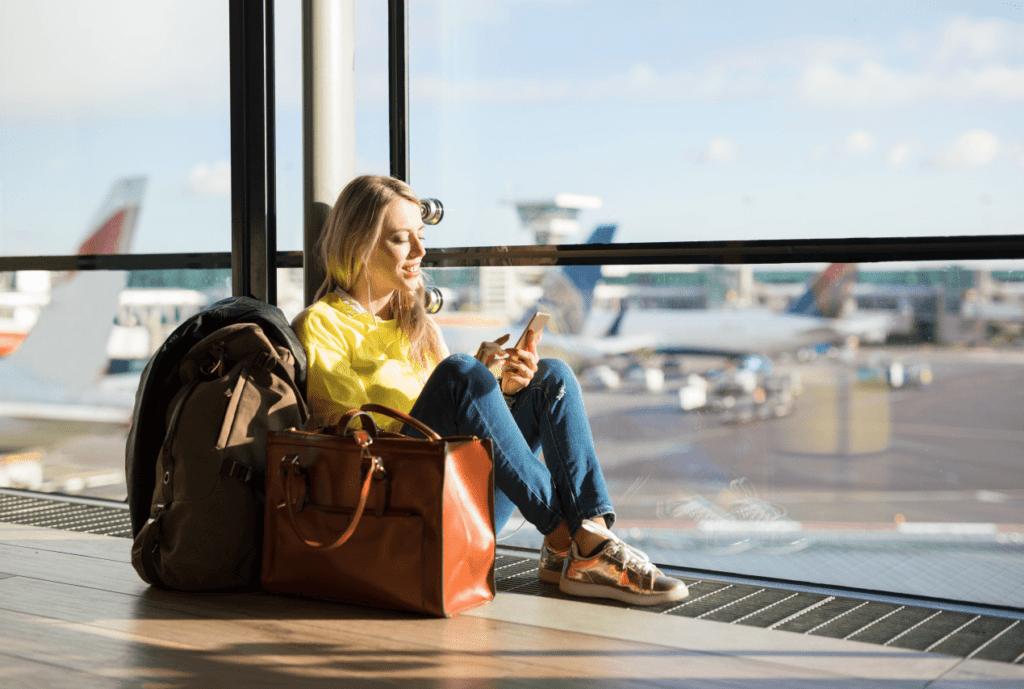 аэропорт, ожидание