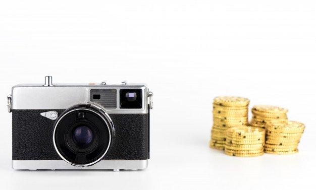 фотоаппарат, деньги