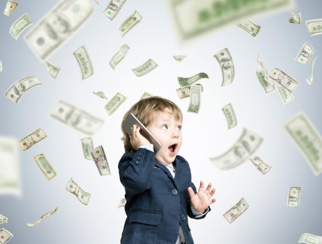 ребенок, деньги