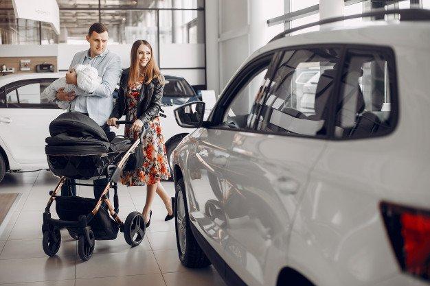 машина, покупка, семья