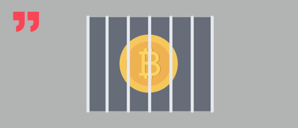 биткоин, тюрьма