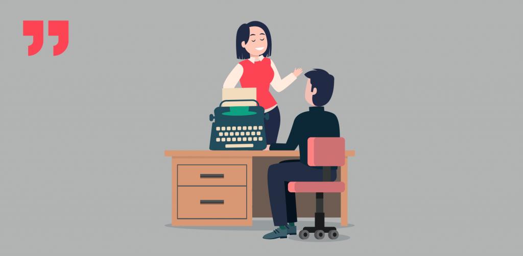 писатель, издатель, печатная машинка