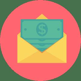 деньги, конверт