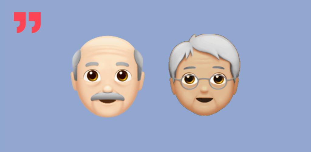 бумеры, бабушка, дедушка