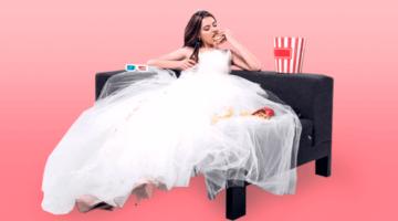 невеста, фастфуд, экономная свадьба