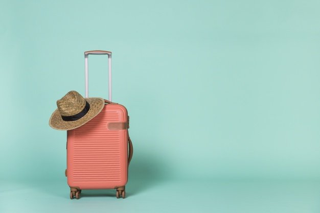 чемодан, шляпа, путешествие