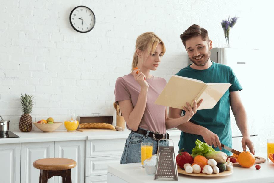 Составить список рецептов блюд, которые ест вся семья