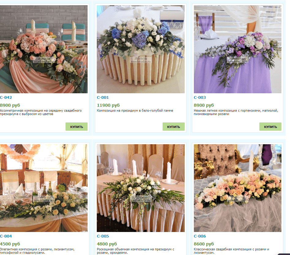 кафе, ресторан, сайт, цена, скриншот, цветы