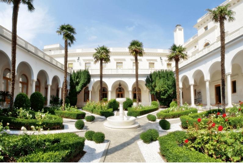 крым, ливадийский дворец