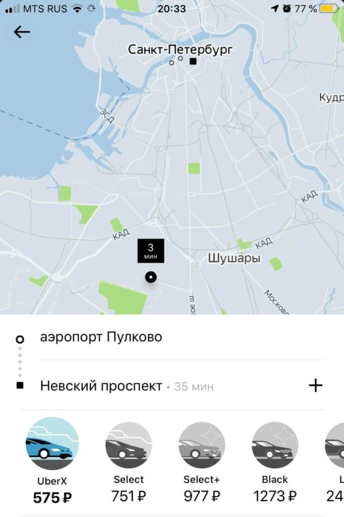 Санкт-Петербург, Транспорт