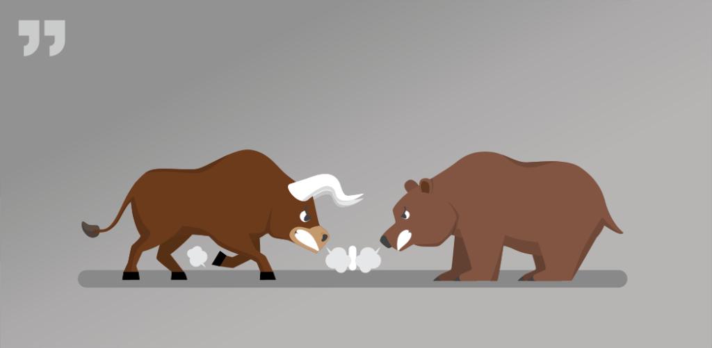 бык, медведь, биржа, торги