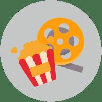 кино, попкорн