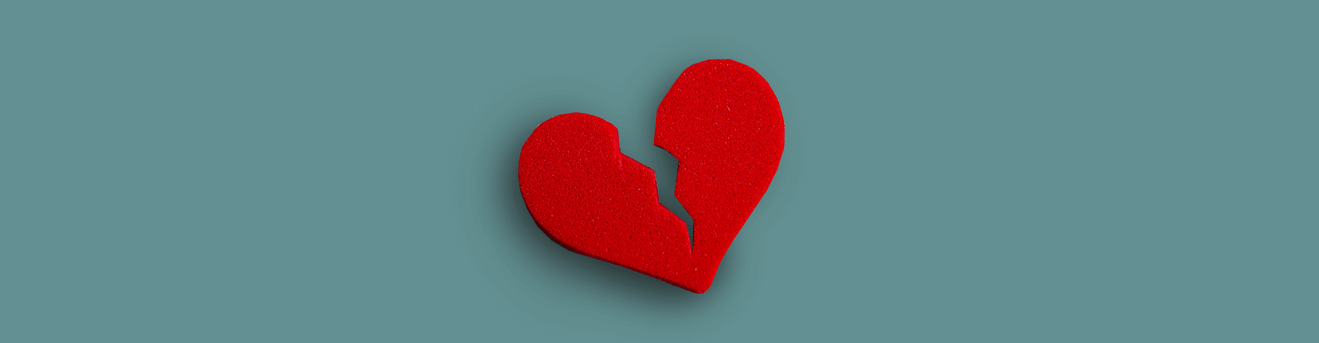 разбитое сердце, горе, потеря кормильца