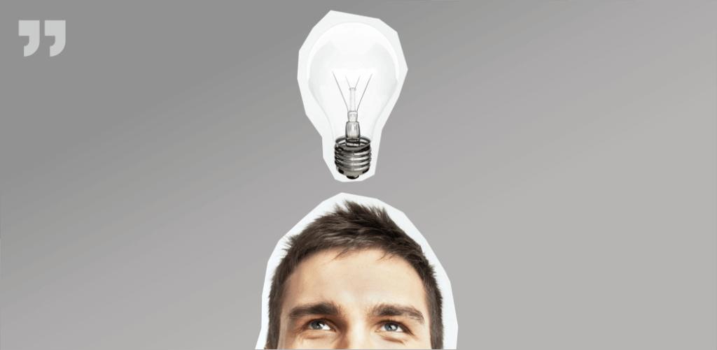 лампочка, идея