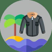 куртка, пляж, сезон