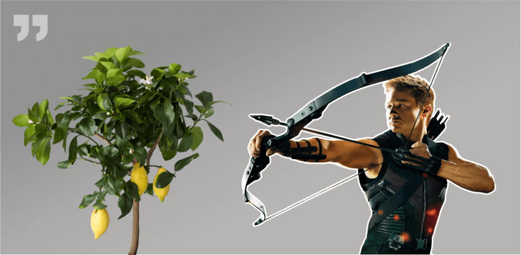 лимонное дерево, стрелок