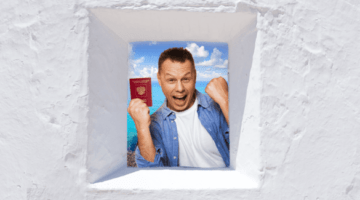 европа, мужчина, паспорт, шенгенская виза, окно в европу