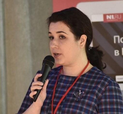 Оксана Сидлецкая,  руководитель проекта N1.Ru в Екатеринбурге