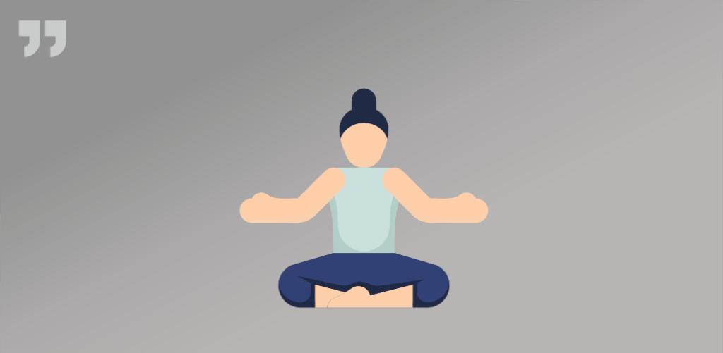 спокойствие, поза, йога