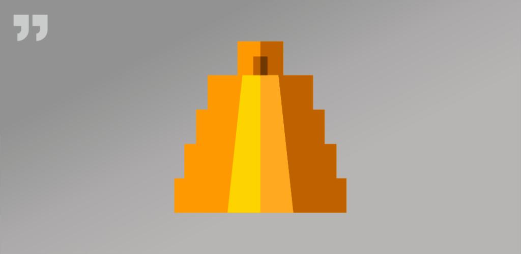 пирамида, силует, эльдорадо