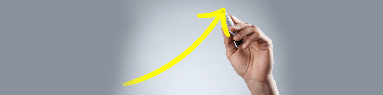 рост цен, рука, график
