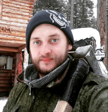 Игорь Лесник, егерь