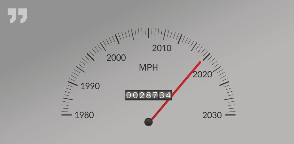 спидометр, скорость