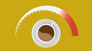 кофе, спидометр, увеличение прибыли