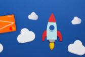 уютный космос, облака, ракета, рокетбанк